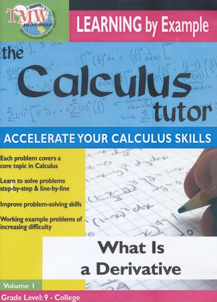 Calculus Tutor: What Is A Derivative? DVD