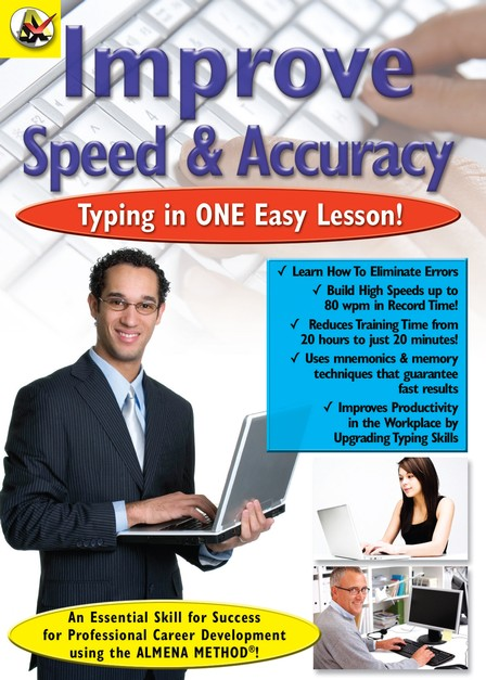 Improve Typing Speed & Accuracy DVD