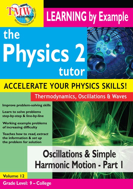 Oscillations and Simple Harmonic Motion - Part 1 DVD
