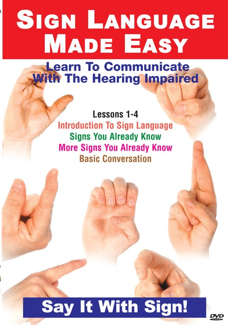 TMW Media Sign Language Lessons 1-4: Introduction, Signs You Already Know, More Signs You Already Know, Basic Conversation--DVD