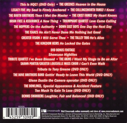 NQC Live, Volume 10 CD/DVD