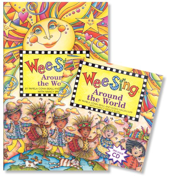 Wee Sing Around the World--Book & CD