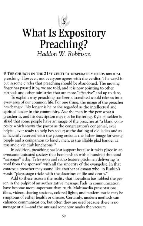 Pastor's Guide to Effective Preaching