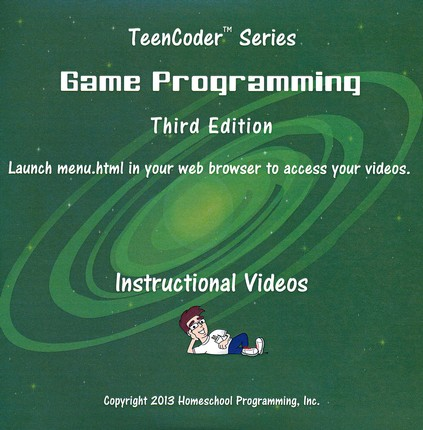 TeenCoder: Game Programming Supplemental Instructional DVD 3rd Edition