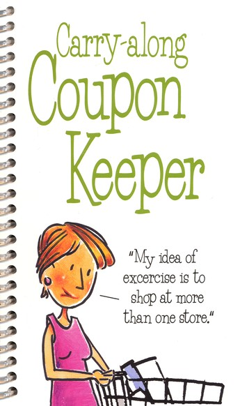 Carry-Along Coupon Organizer