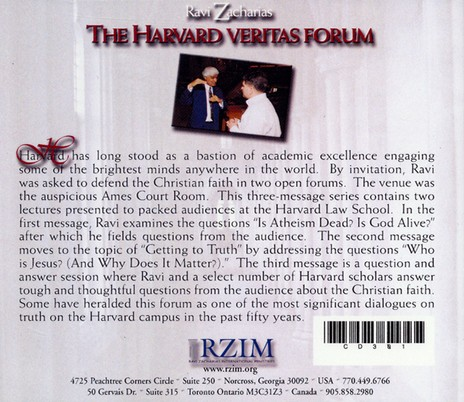 The Harvard Veritas Forum - CD