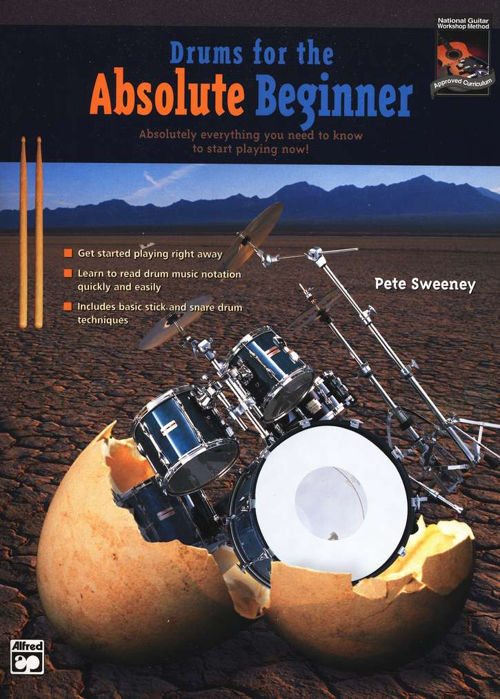 Drums for the Absolute Beginner--Book and DVD