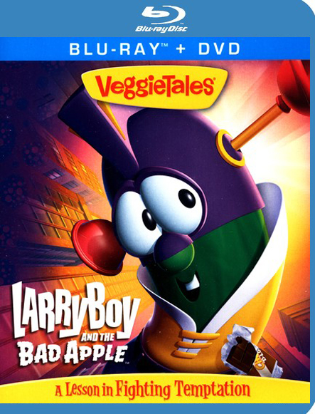 LarryBoy & the Bad Apple, Blu-ray/DVD