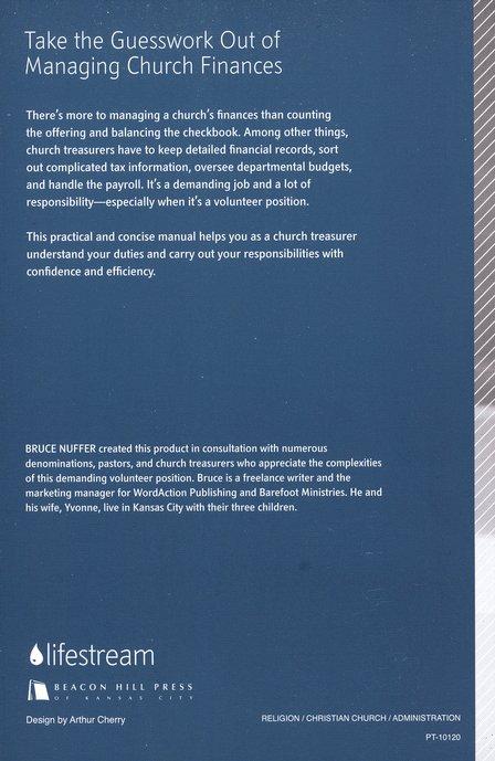 the church treasurers manual a practical guide for managing church finances book cd rom bruce nuffer 9780834123830 christianbookcom