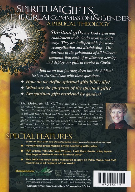 Spiritual Gifts, the Great Commission & Gender - DVD
