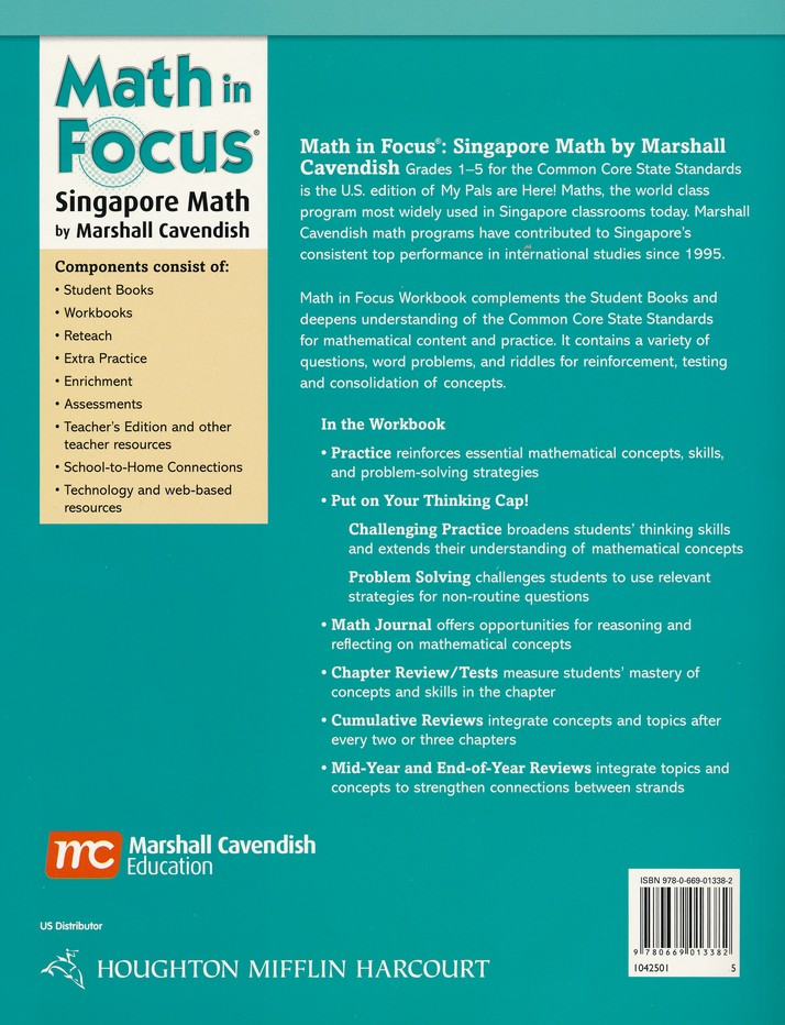 Math In Focus Grade 5 Homeschool Package With Answer Key