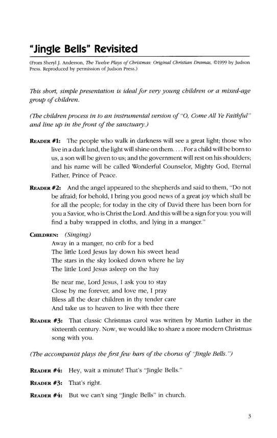 Short Christmas Plays.The Twelve Plays Of Christmas Original Christmas Dramas