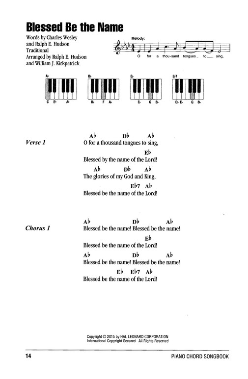 Gospel Hymns, Piano Chord Songbook: 9781495035821 - Christianbook.com