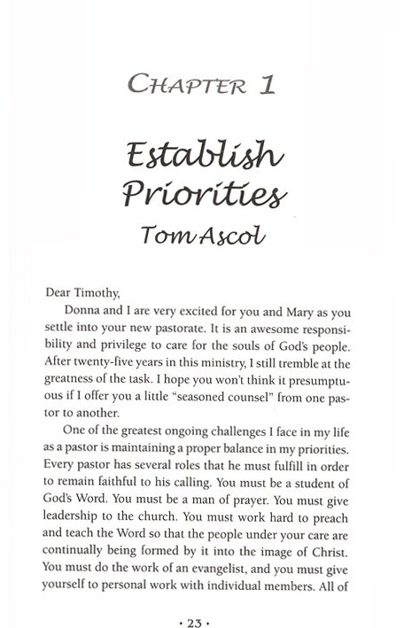 Dear Timothy: Letters on Pastoral Ministry