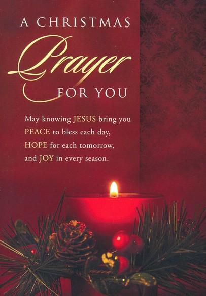 Christmas Prayer, Box of 12 Christmas Cards (KJV)