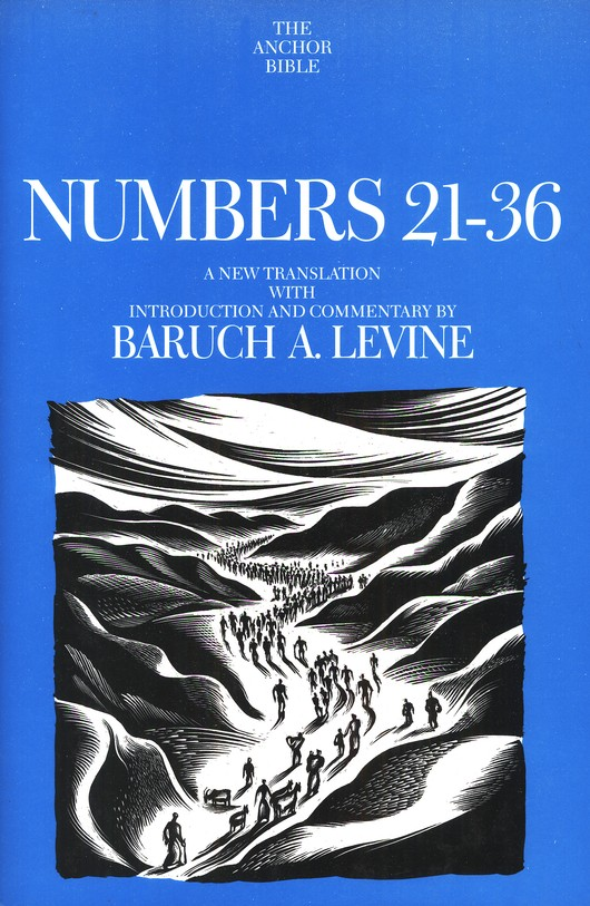Numbers 21-36: Anchor Yale Bible Commentary [AYBC]