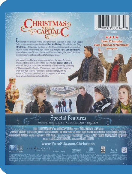 Christmas with a Capital C, Blu-ray