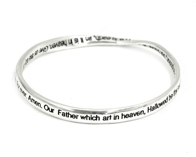 The Lord's Prayer Mobius Bracelet