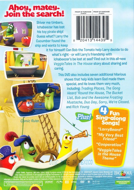 Veggietales In The House Captain Larry Beard And The Search For The