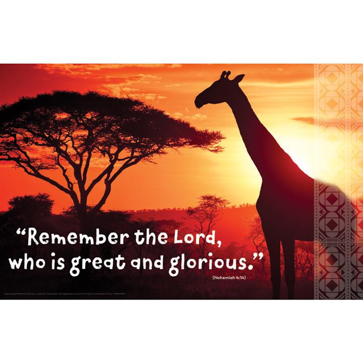 Roar: Bible Verse Posters (set of 5)