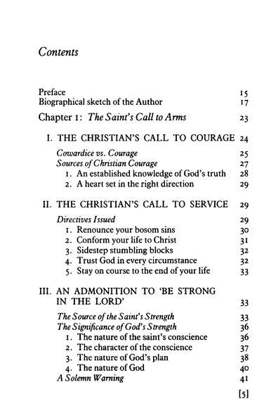 The Christian in Complete Armour, Volume 1