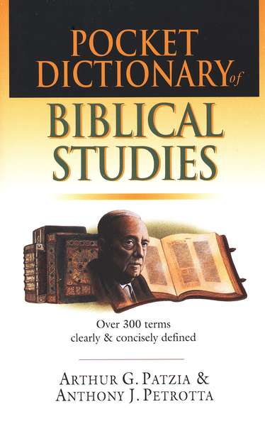 Pocket Dictionary of Biblical Studies: Over 300 Terms  Clearly & Concisely Defined