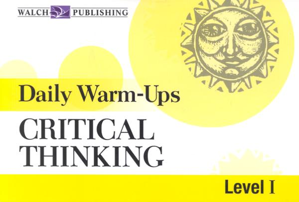 Daily Warm-Ups: Critical Thinking, Level 1