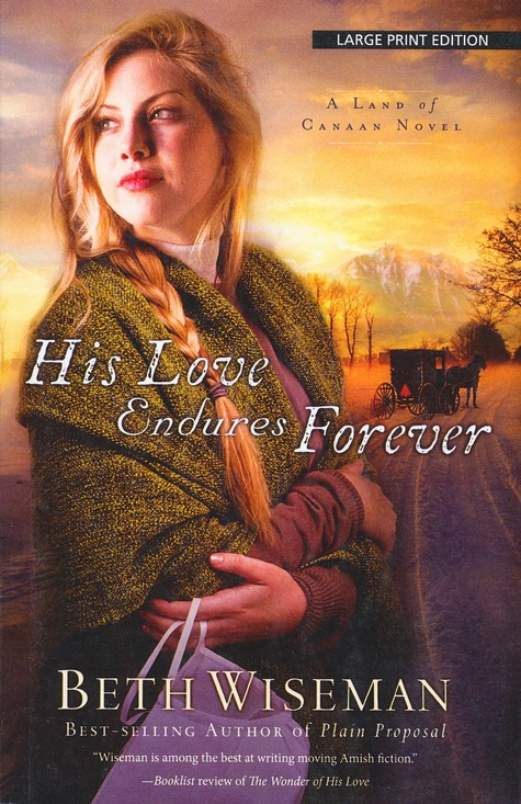 #3: His Love Endures Forever, Large Print