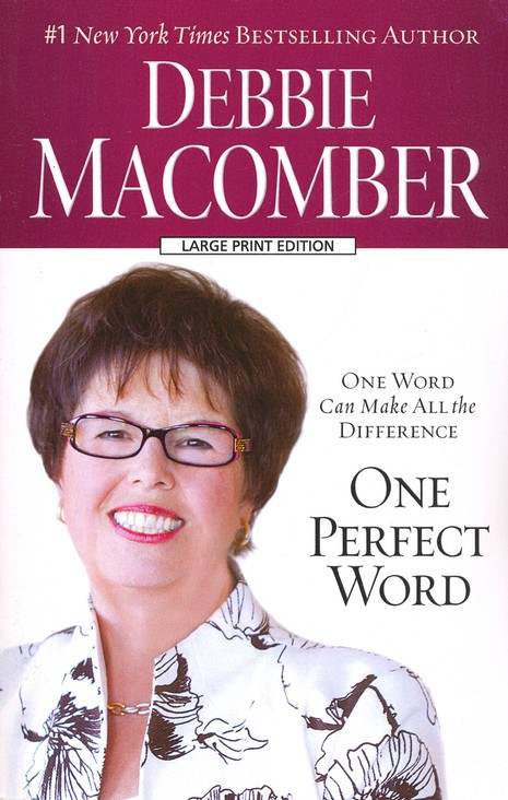 One Perfect Word, Large Print