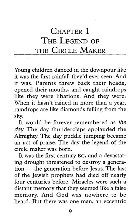 The Circle Maker: Praying Circles Around Your Biggest Dreams and Greatest Fears, Large Print
