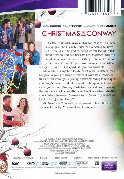 Christmas In Conway.Christmas In Conway Dvd