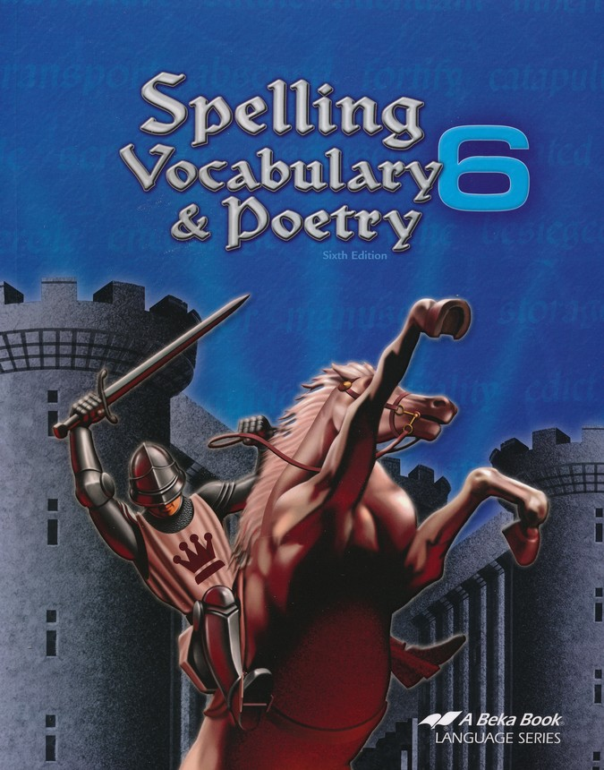 Spelling, Vocabulary, & Poetry 6