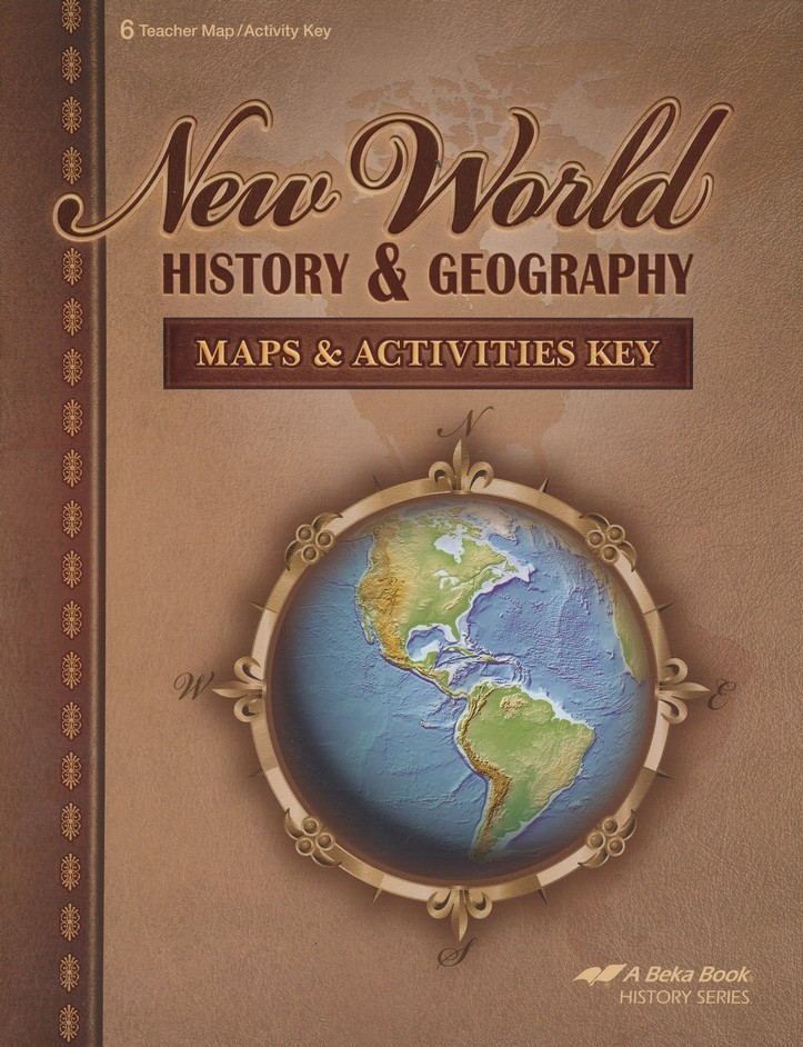 Abeka new world history geography maps activities key abeka new world history geography maps activities key christianbook gumiabroncs Images
