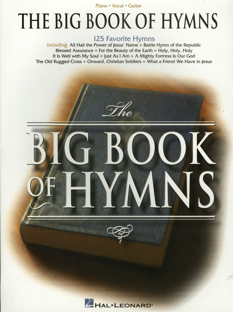 The Big Book Of Hymns 9780634006999 Christianbook