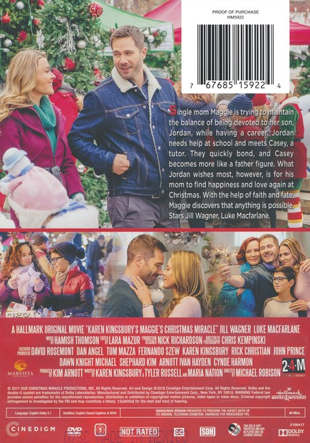 Maggies Christmas Miracle.Maggie S Christmas Miracle Dvd