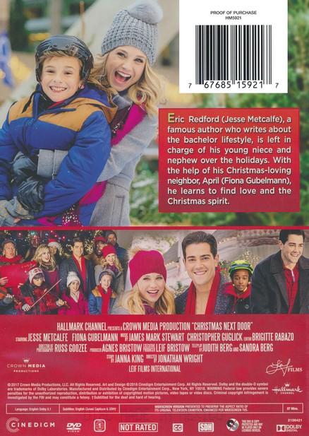 Christmas Next Door Hallmark.Christmas Next Door Dvd