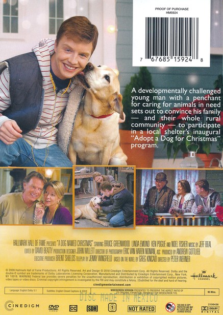 A Dog Named Christmas.A Dog Named Christmas Dvd