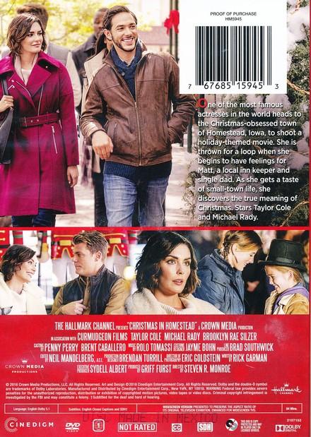 Christmas In Homestead Hallmark.Christmas In Homestead Dvd