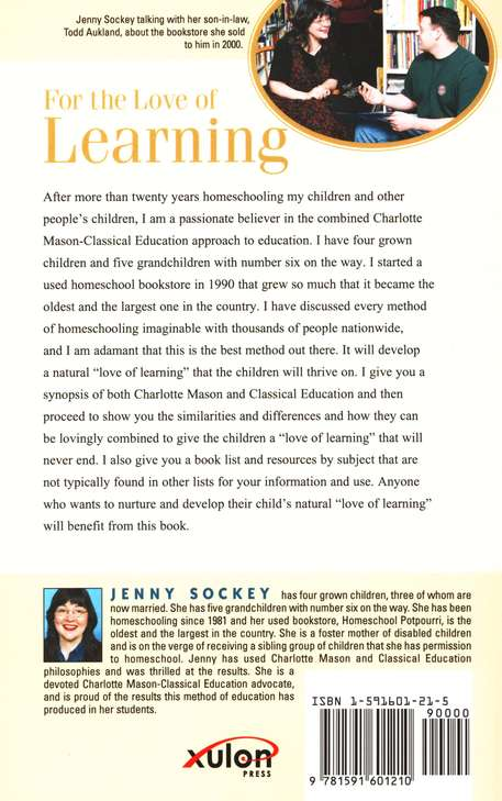 For the Love of Learning: Information & Resources for   Combining Charlotte Mason & Classical Education
