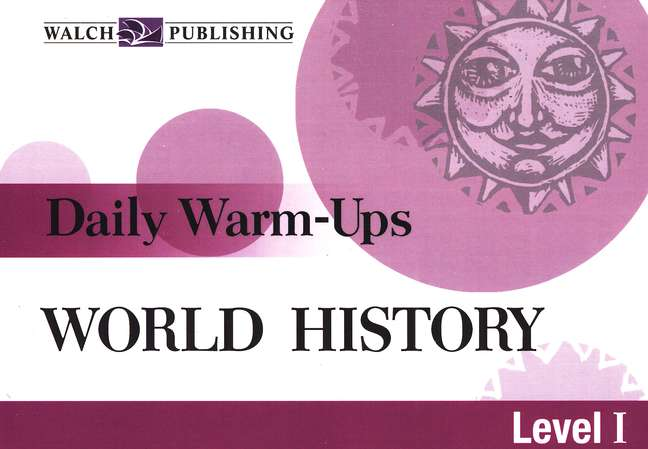 Daily Warm Ups World History, Level 1