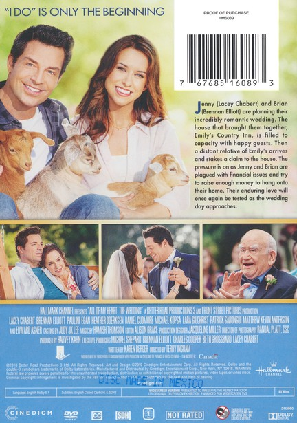All of My Heart: The Wedding, DVD