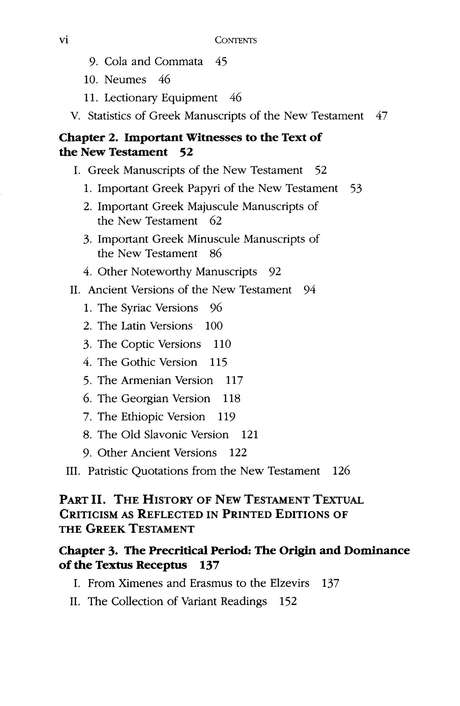 The Text of the New Testament, 4th Edition