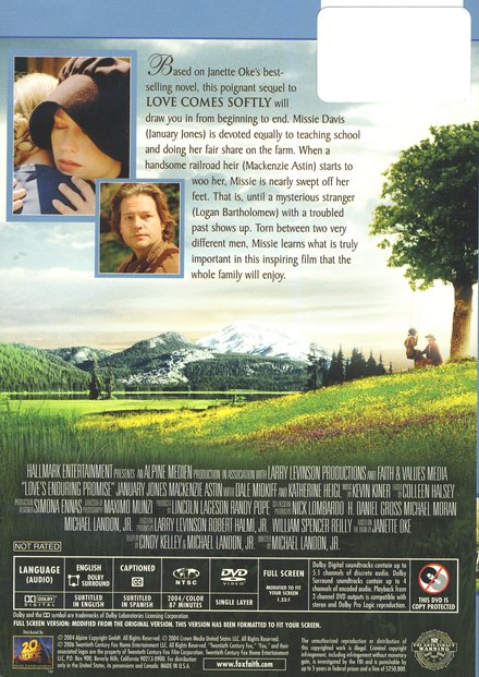 Love's Enduring Promise, DVD