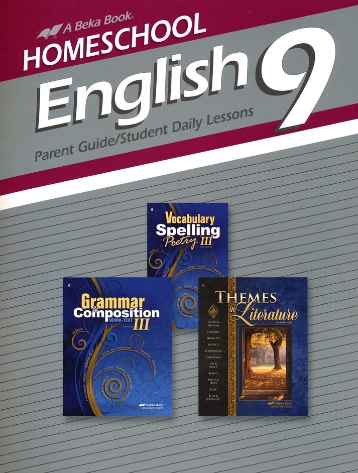 Abeka Homeschool English 9 Curriculum/Lesson Plans