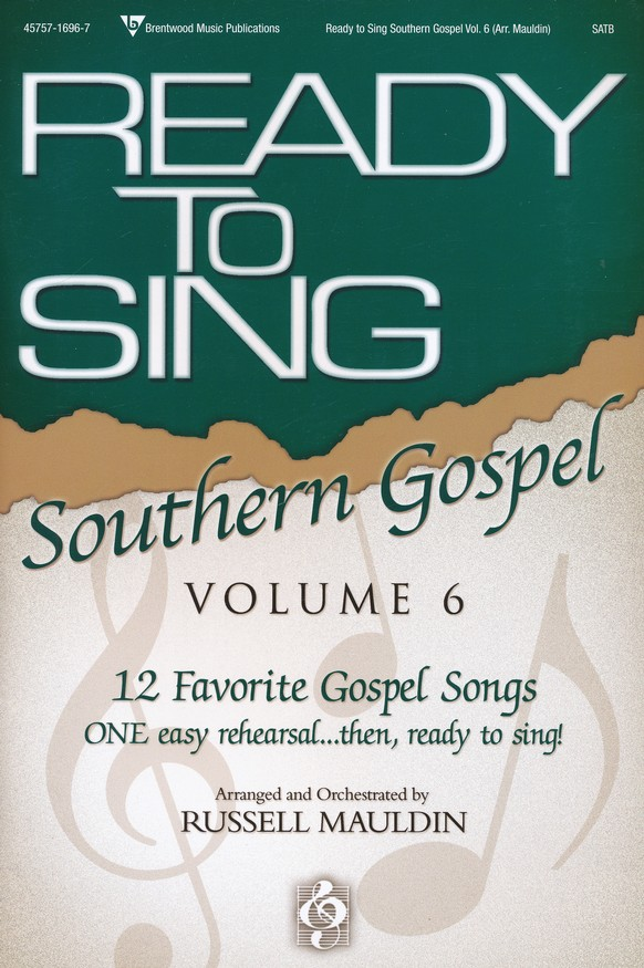 Ready to Sing Southern Gospel, Volume 6