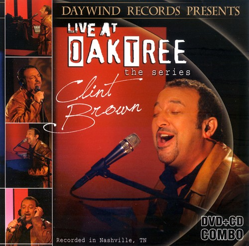 Clint Brown Live At Oak Tree DVD/CD