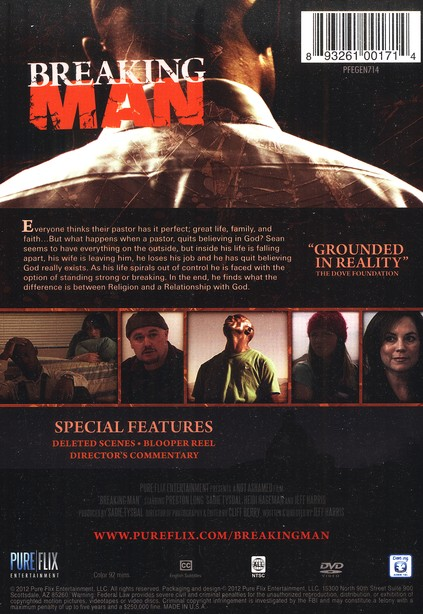 Breaking Man, DVD