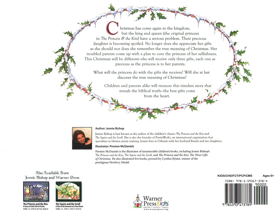 The Three Gifts of Christmas with Audio CD