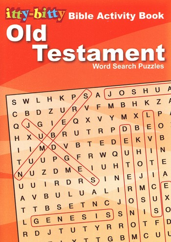 Old Testament Word Search Puzzles--Ages 7 and Up