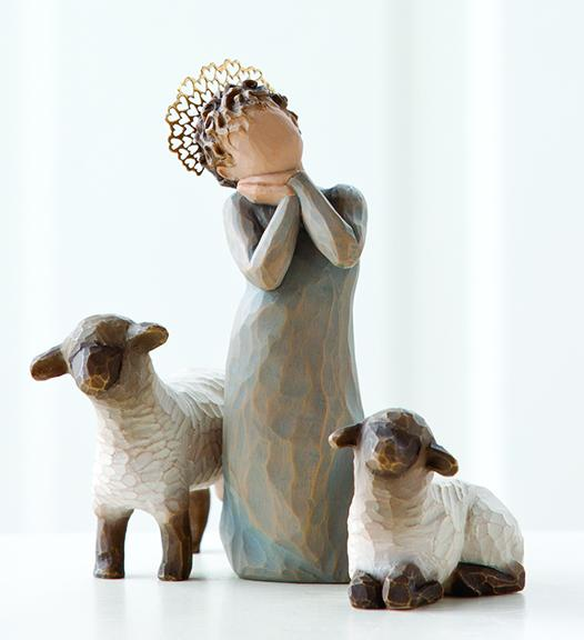 Willow Tree &#174 Nativity, Little Shepherdess